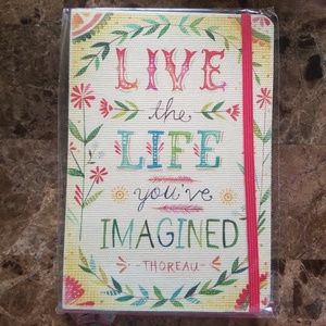 Live The Life You Imagined Journal NEW